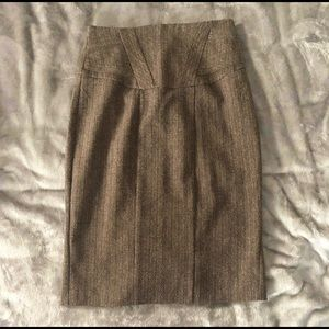 XOXO Women's Knee Length Skirt